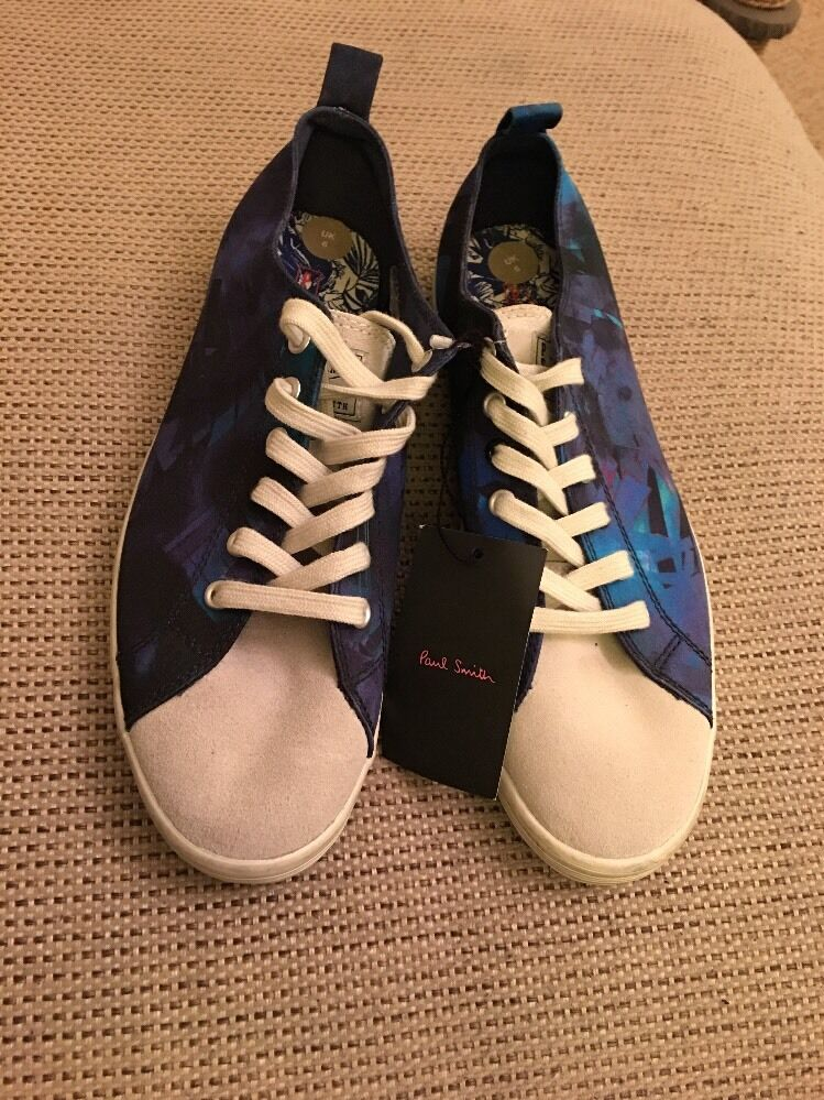 Paul Smith Jeans Men's Trainers Musa Size BNWOB