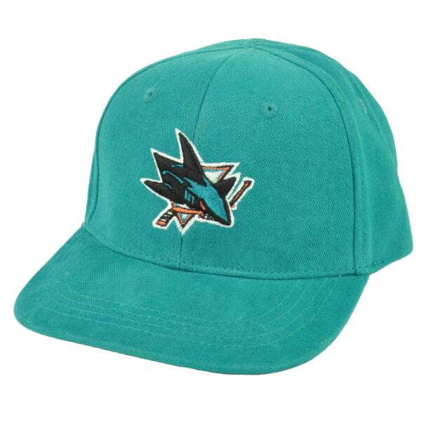 19632fc59dd NHL San Jose Sharks Fan Favorite Toddler Adjustable Hat Cap Turquoise Robbie