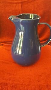 Nancy Calhoun Solid Color Sapphire 64 oz Water Pitcher