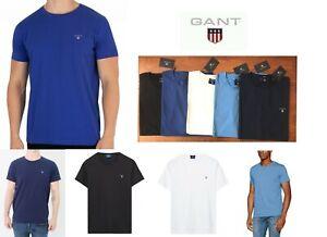 GANT-Men-039-s-Crew-Neck-Short-Sleeve-The-Original-T-Shirt-Cotton-Tee