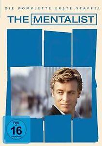 The-Mentalist-Die-komplette-erste-Staffel-6-DVDs-von-DVD-Zustand-gut