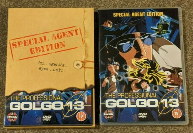 Golgo 13 The Professional - Special Agent Edition DVD - Official, Region 2