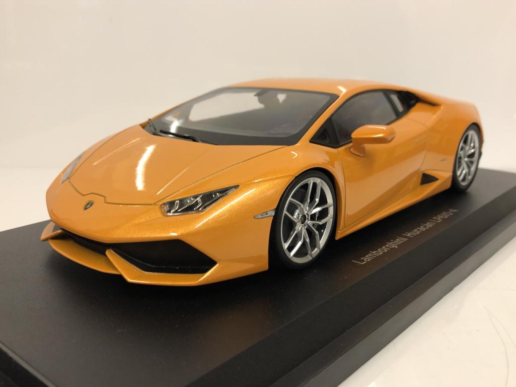 Lamborghini Huracan LP610-4 Orange 2015 Ousia Kyosho Nouveau