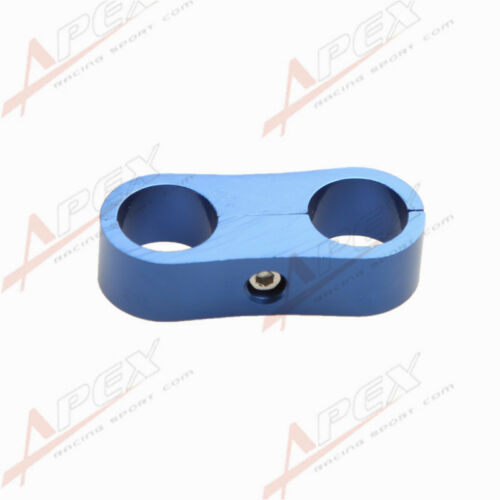 ID 27.0mm Braided Hose Separator Clamp Fitting Adapter Fuel Oil