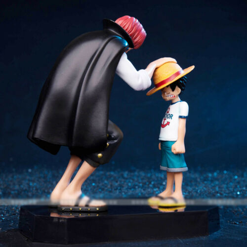 One Piece Four Emperors Shanks Straw Hat Anime Luffy PVC Figure Toy no box