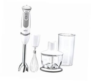 Braun-Multiquick-Vario-Sauce-Stabmixer-Zerkleinerer-Edelstahlschneebesen-Easycli