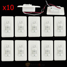 10pcs Auto On/Off Infrared PIR Occupancy Vacancy Motion Sensor Light Lamp Switch