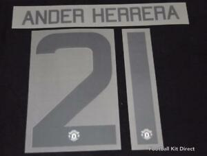 Manchester United 2017//18 Champions league//FA Cup Name//Number Ander Herrera G