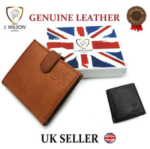 MENS-REAL-LEATHER-SOFT-QUALITY-DESIGNER-WALLET-CREDIT-CARD-COIN-HOLDER-PURSE
