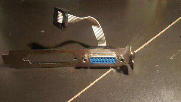 100% Kwaliteit Vintage Computer Game Midi Port Adapter 10pin Header & 25 Pin Parallel Port Head Tegen Elke Prijs