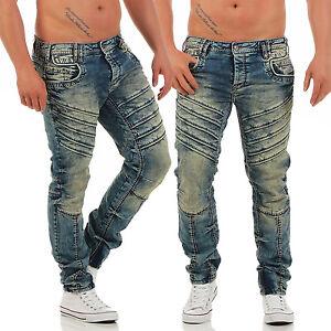CIPO-amp-BAXX-CD-317-Regular-Fit-Men-Herren-Jeans-Hose-NEU