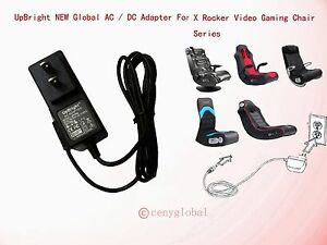 details about new ac dc adapter for x rocker game gaming chair 51231 power supply cord charger