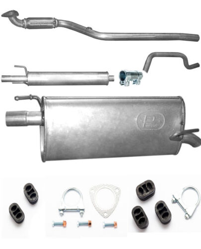 Auspuff inkl  Montagesatz Opel Meriva A Großraumlimousine 77kW  Bj ab 08//2005