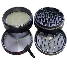SXCtech 2.5 Inch Magnetic Aluminum Herb/Tobacco  Grinder - 4 Pieces