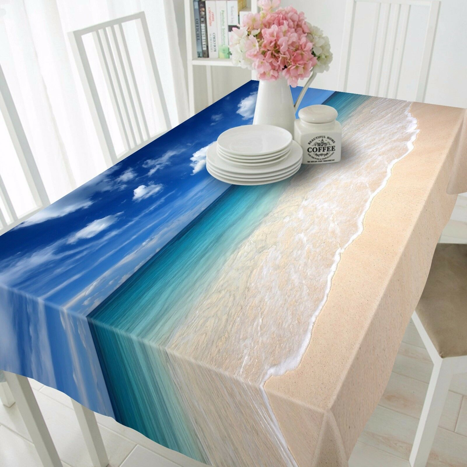 3D Sea 47735 Tablecloth Table Cover Cloth Birthday Party Event AJ WALLPAPER AU