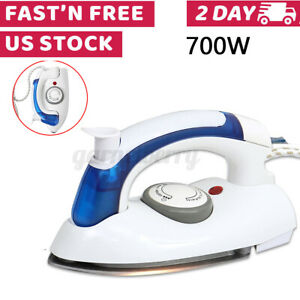 Mini-Electric-Steam-Iron-3-Gears-Garment-Flatiron-Portable-Handheld-US