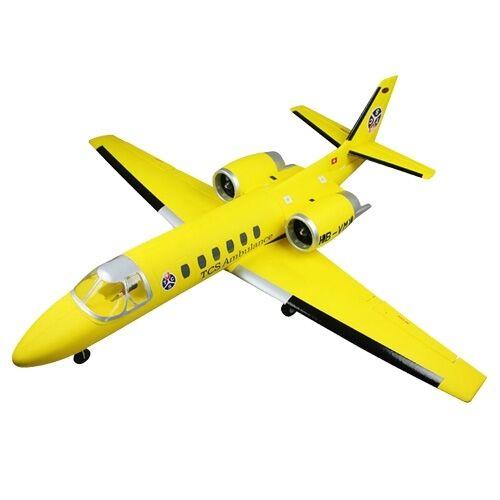 Cessna 550 Citation Swiss Turbo Jet Retracts ARTF no Tx Rx Bat
