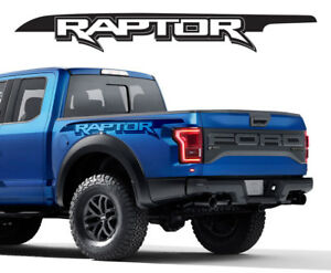Ford Raptor SVT F Bedside Vinyl Graphics Decals With - Truck bed decals customford fvinyl graphics for bed fender