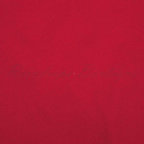 "Luxury Merino Wool Rayon mix felt 2mm thick sheet or 1//2 metre 36/""wide En71 Pass"