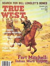 True West Dec.1992 Fort Mitchell Oregon Trail Prostitute Wyoming Nehalem Texas