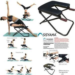 sisyama inversion bench yoga headstand chair longerwider