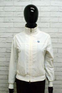 Giacca-NORTH-SAILS-Donna-Taglia-Size-XS-Giubbino-Giubbotto-Jacket-Woman-Bianco
