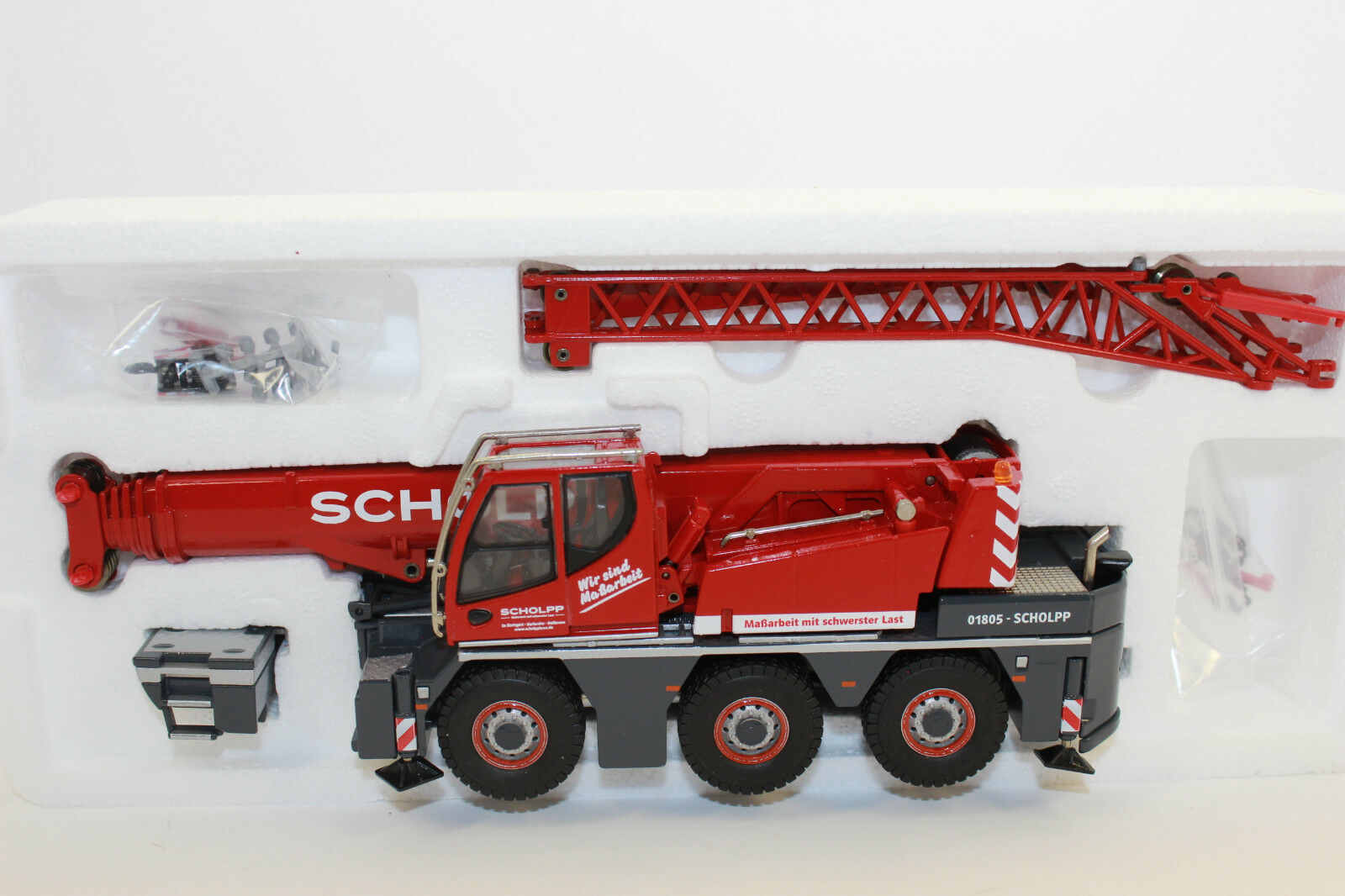 Kk Conrad 2109 Liebherr Ltc 1045-3.1 Scholpp Car Crane Mobile Crane 1 50 Nip Kk