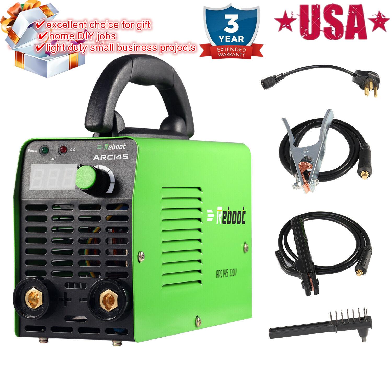 mirthstore 110V 220V Digital Welding Machine IGBT Inverter ARC 145amp MMA Stick Welder Weld