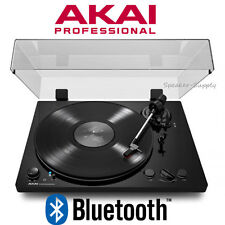 Akai BT100 Record Player Digital Conversion Turntable Bluetooth USB Automatic