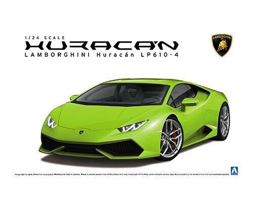respuestas rápidas Aoshima 1 24 24 24 Lamborghini Huracan LP610-4 (Oltremare Edizione) Modello Plastica  el precio más bajo