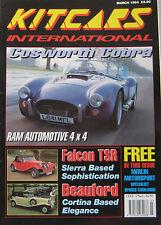 Kitcars International 03/1994 featuring Beauford, Onyx Firefly, Pilgrim, RAM