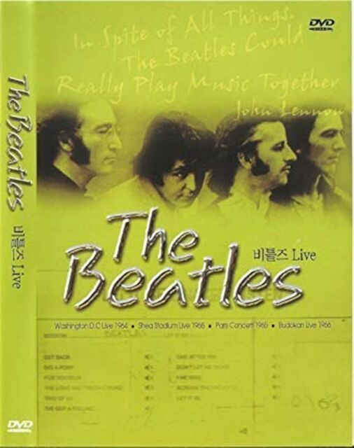 The Beatles Live Full Concerts Shea Stadium Uk Compatible Region Dvd For Sale Online Ebay