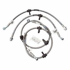 RUSSELL 1996-00 HONDA CIVIC CX DX HX STAINLESS BRAKE LINE KIT small front rotor