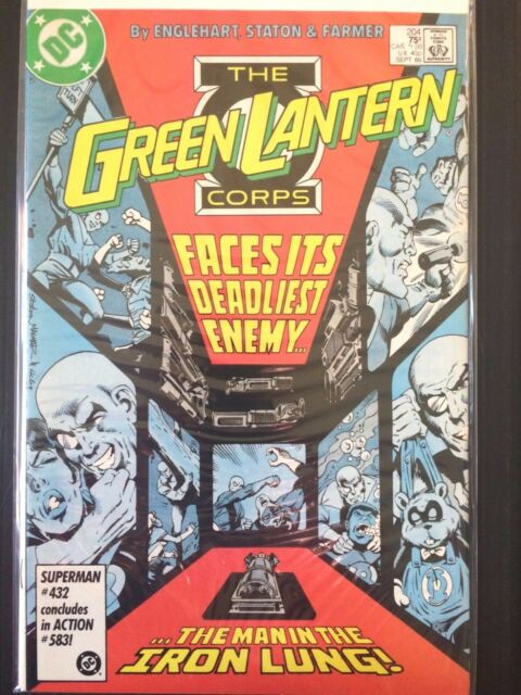 """Green Lantern (DC 1986)  #204   """"Young and Innocent""""    VF"""