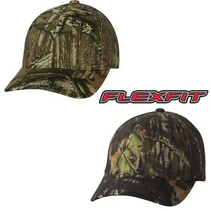 FLEXFIT-Mossy-Oak-Infinity-Camo-Hats-6999-NEW-Fitted-Camouflage-Cap-S-M-L-XL-2XL