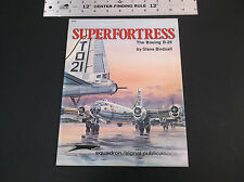 SUPERFORTRESS THE BOEING B-29  BOOKLET SQUADRON / SIGNAL PUBLICATIONS *VG-COND*