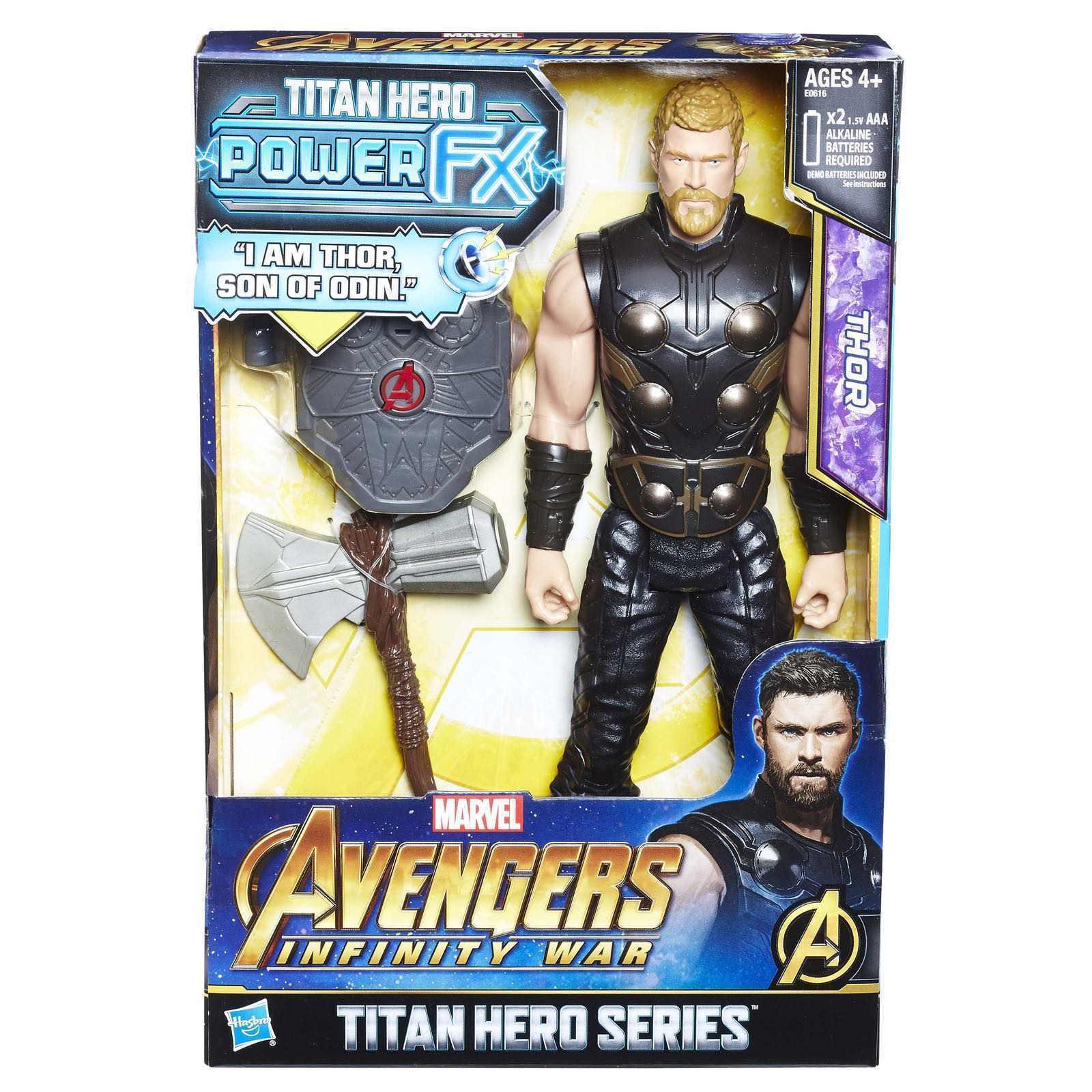 Hasbro marvel avengers 2 infinity krieg 12  titan held macht fx thor action - figur