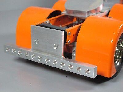 Rear Aluminium Bumper with drilled holes Tamiya RC 1//14 King Grand Hauler Truck