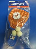 Los Angeles Angels Mlb Baseball Glove Sports Party Favor Toy Paddle Ball Games