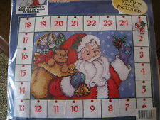 Bucilla Counted Cross Stitch ADVENT CALENDAR Kit,COUNTDOWN TO CHRISTMAS,#83816