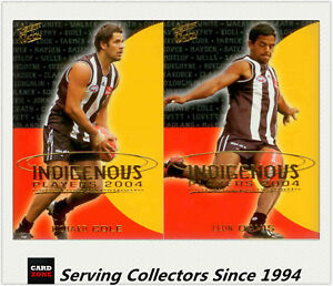 2004-Select-AFL-Ovation-Indigenous-Players-Card-Collingwood-Team-set-2