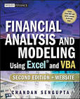 Financial Analysis and Modeling Using Excel and VBA by Chandan Sengupta (Paperback, 2009)