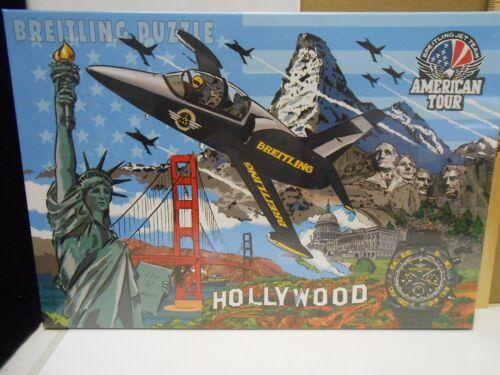 RARE Breitling Jet Team American Tour Puzzle - Ravensburger 300 pieces