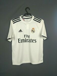 Real Madrid Jersey 2018 2019 Home Youth 13-14 y Shirt Adidas CG0554 ig93