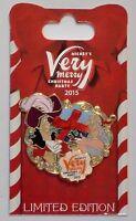 Disney Mickeys Merry Christmas Party 2015 Captain Hook & Smee 3-d Pin Le 5100