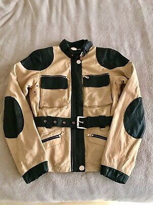Mulberry Leather Jacket Size 8UK
