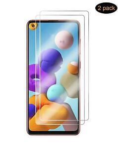 Para Samsung Galaxy A21s, 9H Vidrio Templado Protector de Pantalla (Pack De 2)