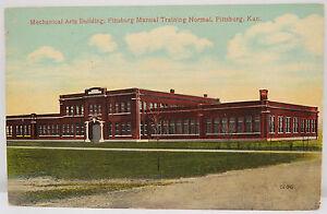 Mechanical-Arts-Building-Pittsburg-1914-USA-Postcard-Ak-Postcard-A2426