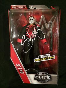 Sting Elite RAW Autographed Signed RSC Rare wwe ecw Mattel