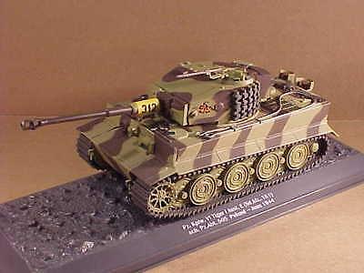 Altaya 1/43 ! WWII Panzer V1 / Tiger I Heavy Tank, s.Pz.Abt. 505, Poland #No. 01